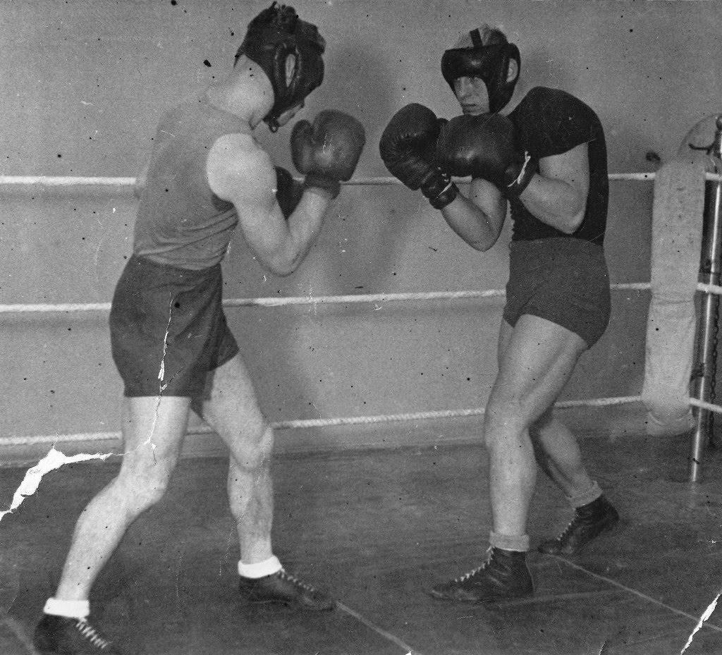 Старые картинки бокса